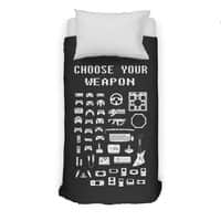 Choose Your Weapon: Gamers - duvet-cover - small view
