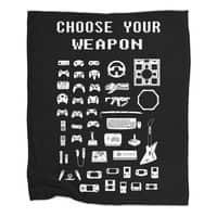 Choose Your Weapon: Gamers - blanket - small view