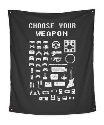 Choose Your Weapon: Gamers