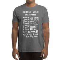 Choose Your Weapon: Gamers - mens-regular-tee - small view