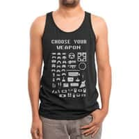 Choose Your Weapon: Gamers - mens-triblend-tank - small view
