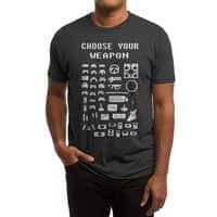 Choose Your Weapon: Gamers - mens-triblend-tee - small view