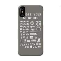 Choose Your Weapon: Gamers - perfect-fit-phone-case - small view