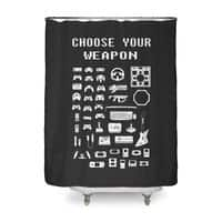 Choose Your Weapon: Gamers - shower-curtain - small view