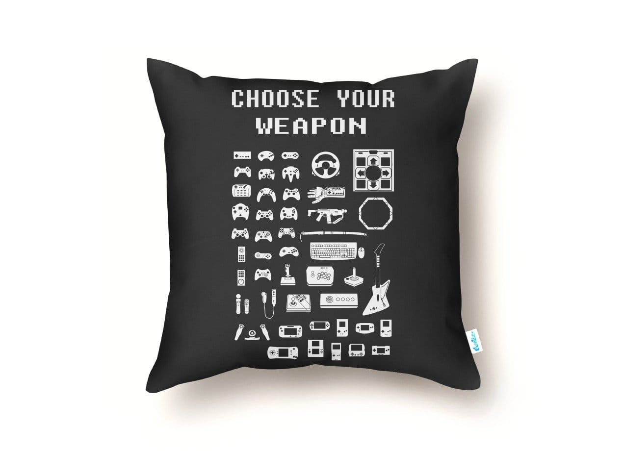 Choose Your Weapon Gamers By Brian Campbell Rug Threadless