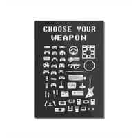 Choose Your Weapon: Gamers - vertical-mounted-acrylic-print - small view