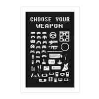 Choose Your Weapon: Gamers - vertical-print - small view