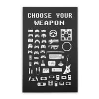 Choose Your Weapon: Gamers - vertical-stretched-canvas - small view