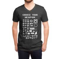 Choose Your Weapon: Gamers - vneck - small view