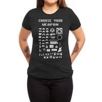 Choose Your Weapon: Gamers - womens-triblend-tee - small view