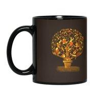 Tree Party - black-mug - small view