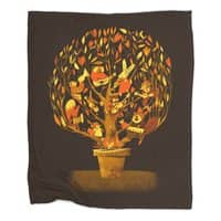 Tree Party - blanket - small view