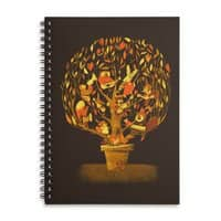 Tree Party - spiral-notebook - small view