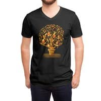 Tree Party - vneck - small view
