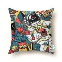Kosmonaut - throw-pillow - small view