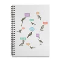 Fowl Language - spiral-notebook - small view
