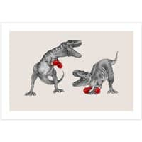 T-Rex Boxing - horizontal-print - small view