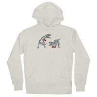 T-Rex Boxing - unisex-lightweight-pullover-hoody - small view