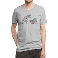 T-Rex Boxing - vneck - small view