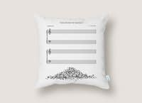 The Sound of Silence - throw-pillow - small view
