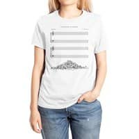 The Sound of Silence - womens-extra-soft-tee - small view