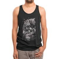 Sleep with the Gods - mens-triblend-tank - small view