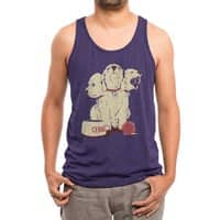 Satan's Little Helper - mens-triblend-tank - small view