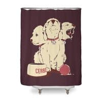 Satan's Little Helper - shower-curtain - small view