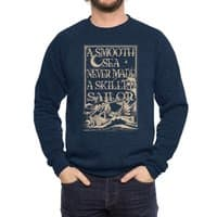 A Smooth Sea - crew-sweatshirt - small view