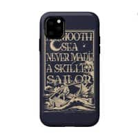 A Smooth Sea - double-duty-phone-case - small view