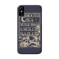 A Smooth Sea - perfect-fit-phone-case - small view