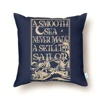 A Smooth Sea - throw-pillow - small view