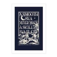 A Smooth Sea - vertical-print - small view