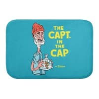 The Capt. in the Cap - bath-mat - small view