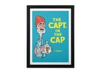 The Capt. in the Cap - black-vertical-framed-print - small view