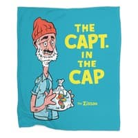The Capt. in the Cap - blanket - small view