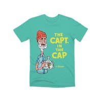 The Capt. in the Cap - mens-premium-tee - small view