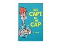 The Capt. in the Cap - vertical-stretched-canvas - small view
