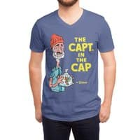 The Capt. in the Cap - vneck - small view
