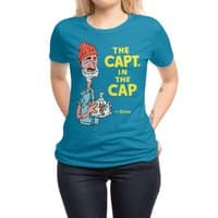 The Capt. in the Cap - womens-regular-tee - small view