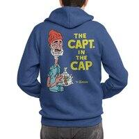 The Capt. in the Cap - zipup - small view