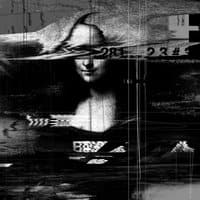 Mona Lisa Glitch - small view