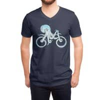 Octopus Bike - vneck - small view