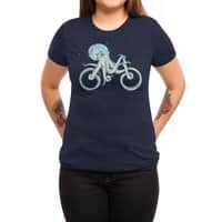 Octopus Bike - womens-triblend-tee - small view