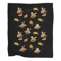 I Can Haz Cheeseburger Spaceships? - blanket - small view
