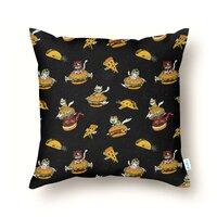 I Can Haz Cheeseburger Spaceships? - throw-pillow - small view