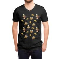 I Can Haz Cheeseburger Spaceships? - vneck - small view