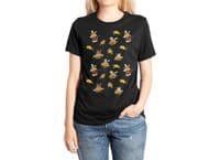 I Can Haz Cheeseburger Spaceships? - womens-extra-soft-tee - small view