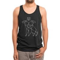 Cerbearus - mens-triblend-tank - small view