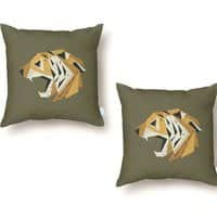 Paper Tiger - throw-pillow - small view